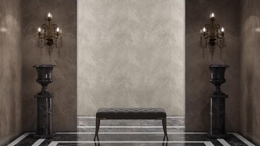 Stucco Veneziano - bathroom