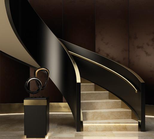 Marco Polo, Staircase